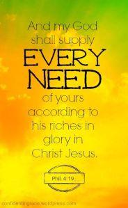 supply every need